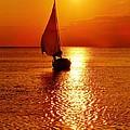 Pamlico Sound Sunset 3 7/26 by Mark Lemmon