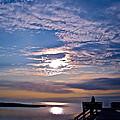 Pamlico Sound Sunset by Carol Rauss