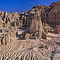 Panaca Formations In Cathedral Gorge State Park Nevada by Dave Welling