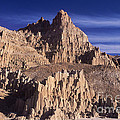 Panaca Sandstone Formations Cathedral Gorge State Park Nevada by Dave Welling