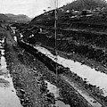 Panama Canal, 1908 by Granger
