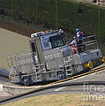 Panama Canal Towing Vehicle 1 by Rudi Prott