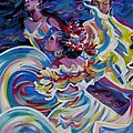 Panama Carnival. Folk Dancers by Anna  Duyunova