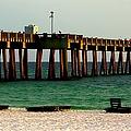 Panama City Beach Pier 2  by Debra Forand