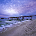 Panama City Beach Pier In The Morning by David Morefield