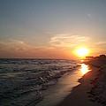 Panama City Beach Sunset by Leara Nicole Morris-Clark