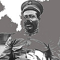 Pancho Villa  Portrait In Military Uniform No Location Or Date-2013 by David Lee Guss