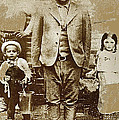 Pancho Villa  Portrait With Children No Location Or Date-2013 by David Lee Guss