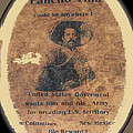 Pancho Villa Wanted Poster #1 For Raid On Columbus New Mexico 1916-2013 by David Lee Guss