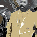 Pancho Villa  Wearing Sombrero Unknown Location 1914-1920-2013 by David Lee Guss
