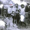 Pancho Villa With Children #1  Durango C. by David Lee Guss
