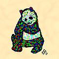 Panda A La Fauvism by Bruce Nutting