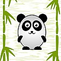 Panda - Animals - Art For Kids by Anastasiya Malakhova