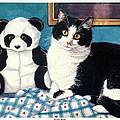 Panda Bear by Tina Buechner
