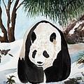 Panda On Ice by Patricia Novack