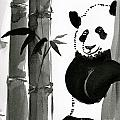 Panda Papa Bear by M E Wood