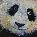 Panda Smile by Michael Creese