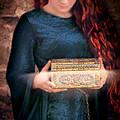Pandora With The Box by Jill Battaglia