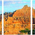 Panels Of A Canyon by Bruce Nutting