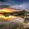 Panglao Port Sunset by Yhun Suarez