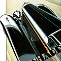 Panhard Car Advertisement by World Art Prints And Designs