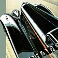 Panhard by Vintage Automobile Ads and Posters