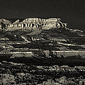 Panorama Bryce Canyon Storm In Black And White by Dave Welling