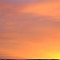Panorama Fire In The Sky 2 Sunset by Roena King