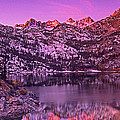 Panorama Lake Sabrina Eastern Sierras California by Dave Welling