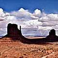 Panorama - Monument Valley Park by David Blank