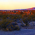 Panorama Morning View Of Mountains by Roena King