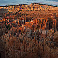 Panorama Of Bryce Canyon Amphitheater by Joan Wallner