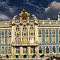 Panorama Of Catherine Palace by David Smith