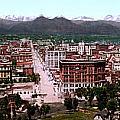 Panorama Of Denver by Georgia Fowler