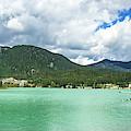 Panorama Of Green Lake, Whistler by Ben Girardi