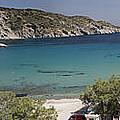 Panorama Of Mandrakia Fishing Village Milos Greece by David Smith