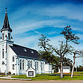 Panorama Of Sts. Cyril And Methodius Catholic Church - Dubina Texas by Silvio Ligutti