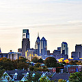 Panorama Of Philadelphia by Bill Cannon