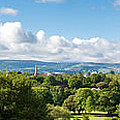 Panorama Of Phoenix Park And Wicklow Mountains by Semmick Photo