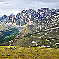 Panorama Of Rocky Mountains In Jasper National Park by Elena Elisseeva