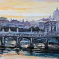 Panorama Of Rome by Luke Karcz