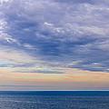 Panorama Of Sky Over Water by Elena Elisseeva