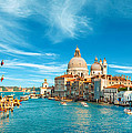 Panorama Of The Basilica Santa Maria Della Salute by Gurgen Bakhshetsyan
