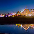 Panorama - Santa Cruz Boardwalk by Scott Campbell