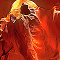 Panorama Slot Canyon Arizona by Dave Welling