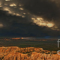 Panorama Storm Clouds Over Bryce Canyon National Park Utah by Dave Welling