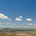 Panorama View Of West El Paso by Allen Sheffield