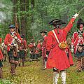 Panoramic Battle Of Bushy Run by Randy Steele