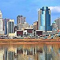Panoramic Cincinnati by Frozen in Time Fine Art Photography