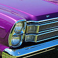 panoramic Ford Galaxie by Mark Spearman